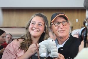 Otto Waalkes mit einem Fan