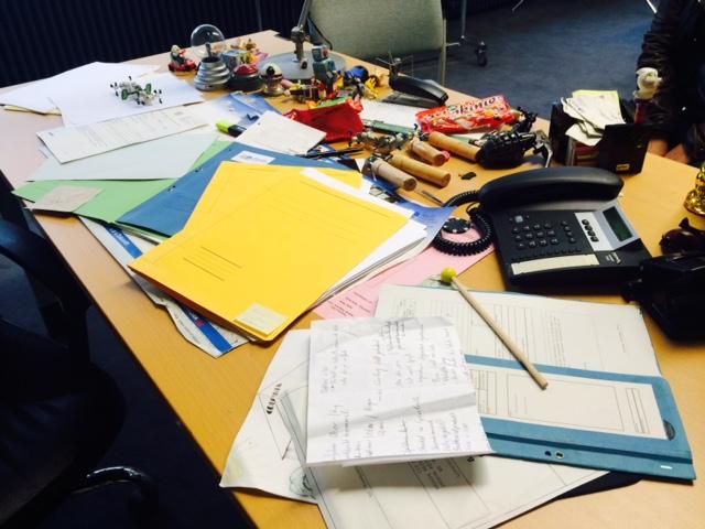 Schreibtisch von Heldt
