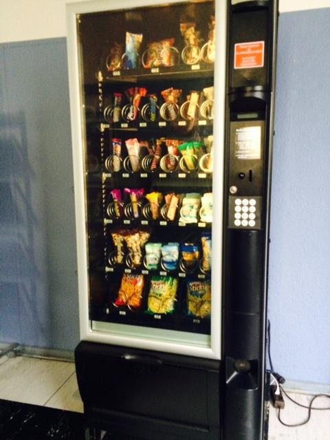 Der Süßigkeiten Automat von Heldt