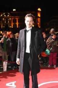 Florian Bartholmäi beim Hessischen Film- und Kinopreis 2017