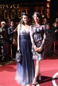 Lea von Acken und Lisa-Marie Koroll beim Hessischen Film- und Kinopreis 2017