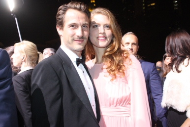 David Rott und Ehefrau beim Hessischen Film- und Kinopreis 2017