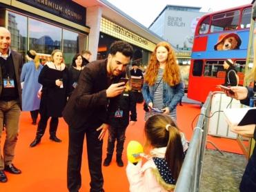 """Elyas M`Barek bei der """"Paddington 2"""" Premiere in Berlin"""