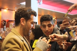 "Elyas M`Barek bei der ""Fack Ju Göhte 3"" Kinotour im Kinopolis Frankfurt-Sulzbach"