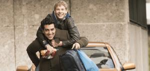 """Elyas M`Barek und Philip Noah Schwarz in dem Film """"Dieses bescheuerte Herz"""""""