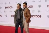 """Oscar Ortega Sánchez und Arnel Taci bei der """"Hot Dog"""" Premiere in Berlin"""