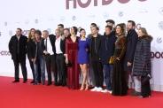 """Die """"Hot Dog"""" Crew bei der Premiere in Berlin"""