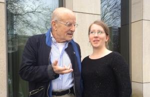 Volker Schlöndorff und Sabrina Heun