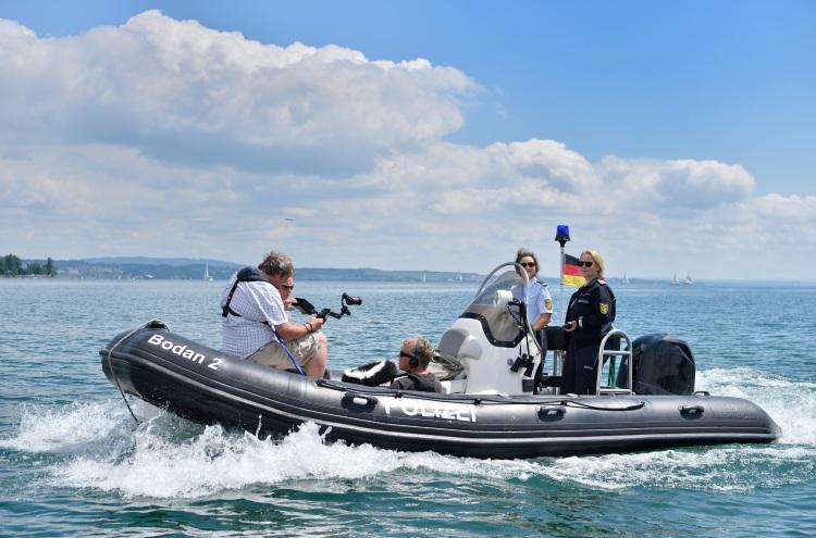 """Dreharbeiten zu """"WaPo Bodensee"""""""