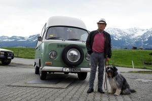 """Claus Theo Gärtner in """"Matula - Schatten des Berges"""""""