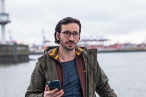 """Arnel Taci als Cem Aladag in """"Soko Hamburg"""""""
