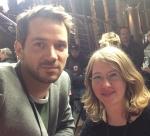 """Marc Benjamin und Sabrina Heun bei der  """"Vielmacvhglas"""" Premiere in Köln"""