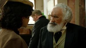 """Sarah Hostettler und Mario Adorf in """"Karl Marx - der deutsche Prophet"""""""