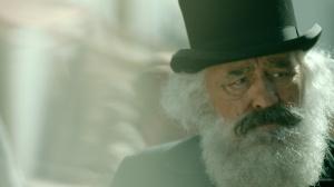 """Mario Adorf in """"Karl Marx - der deutsche Prophet"""""""