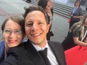 """Trystan Pütter und Sabrina Heun beim """"Deutschen Filmpreis 2018"""""""