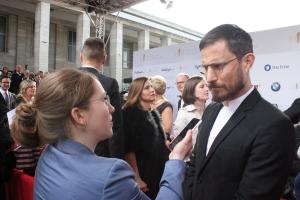 """Clemens Schick und Sabrina Heun beim """"Deutschen Filmpreis 2018"""""""