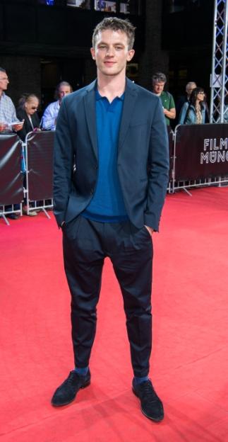 """Jannis Niewöhner auf der Weltpremiere von """"Asphaltgorillas"""" auf dem Filmfest in München"""