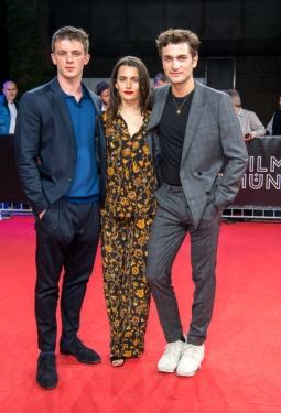 """Jannis Niewöhner, Ella Rumpf und Samuel Schneider auf der Weltpremiere von """"Asphaltgorillas"""" auf dem Filmfest in München"""