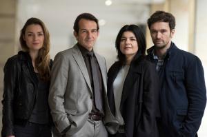 """Josephin Busch, Hans-Werner Meyer, Jasmin Tabatabai und Aleksandar Radenković  drehen wieder für die ZDF-Erfolgsserie """"Letzte Spur Berlin"""""""