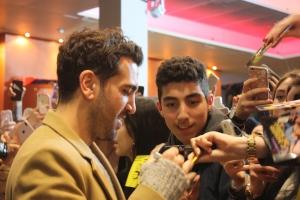 """Elyas M`Barek bei der """"Fack Ju Göhte 3""""Kinotour in Frankfurt-Sulzbach"""