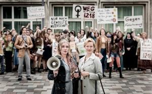 """Alwara Höfels und Anna Schudt in """"Aufbruch in die Freiheit"""""""