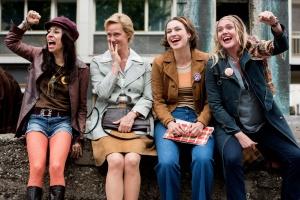 """Carol Schuler, Anna Schudt, Franziska Hartmann und Alwara Höfels in """"Aufbruch in die Freiheit"""""""