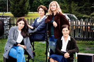 """Nicolette Krebitz, Barbara Auer, Nadja Uhl und Angela Winkler drehen derzeit """"The Wall"""""""