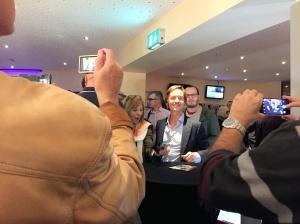 Tom Schilling - ein Star zum anfassen im Kinocenter Gießen