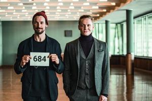 """Florian David Fitz und Matthias Schweighöfer in """"100 Dinge"""""""