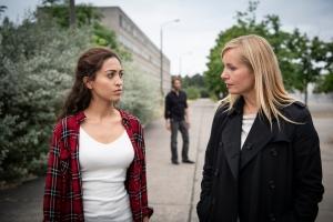 """Nadja Uhl und Sabrina Amali in """"Gegen die Angst"""""""