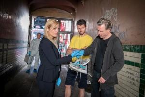"""Nadja Uhl, Dirk Borchardt und Martin Baden in """"Gegen die Angst"""""""