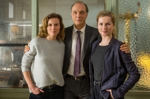 """Karin Hanczewski, Martin Brambach und Cornelia Gröschel in """"Tatort - Das Nest"""""""
