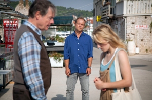 "Michael Wittenborn, Matthias Koeberlin und Caroline Hellwig in ""hartwig Seeler"""