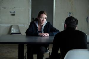 """Lisa Maria Potthoff und Ulrich Matthes in """"Sarah Kohr - Das verschwundene Mädchen"""""""