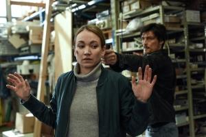 """Lisa Maria Potthoff und Stipe Erceg in """"Sarah Kohr - Das verschwundene Mädchen"""""""