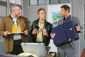 "Dieter Fischer, Max Müller und Igor Jeftic in ""Die Rosenheim-Cops"""