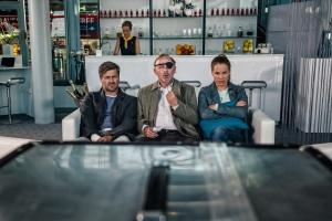 """Michael Mittermeier, Alexander Held und Bernadette Heerwagen in """"münchen Mord"""""""